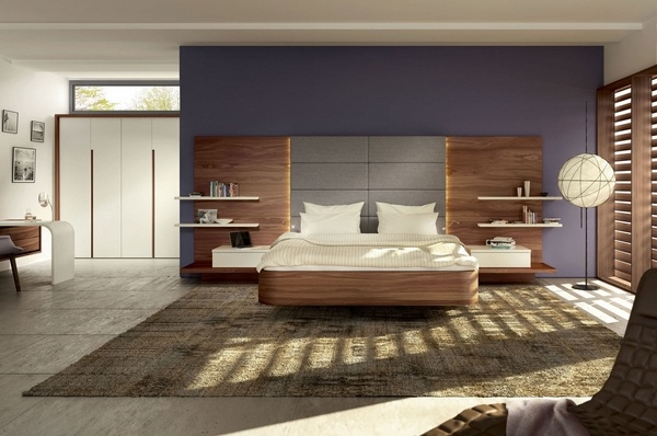 Space saving ideas for the bedroom  get a wall mounted