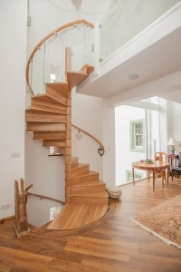 Oak staircase designs in contemporary homes - stylish home ...
