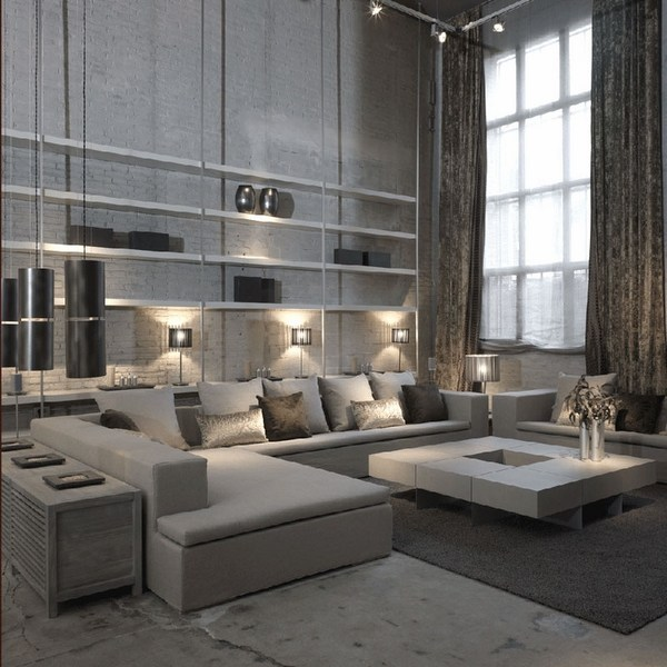 modern gray living room italian leather sets outstanding designs interior solutions contemporary apartment ideas