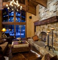Rustic mantelpiece ideas  home decoration with natural