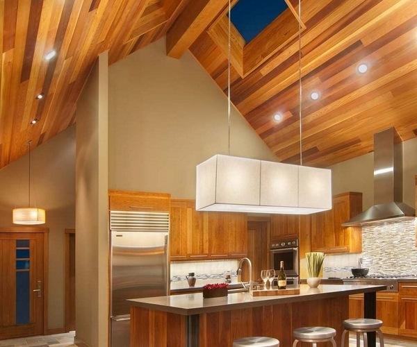 Sloped Ceiling Lighting Ideas Track Lighting: Vaulted Ceiling Lighting Ideas Creative Lighting Solutions