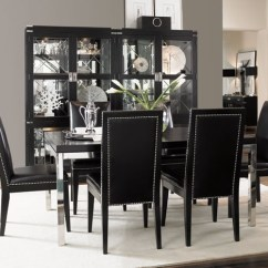 Black Dining Room Chair Diy Hammock Swing 50 Decor Ideas How To Use Color In A Stylish Way