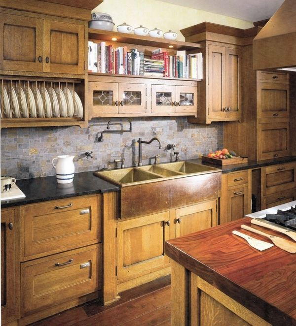 craftsman style kitchen cabinets moen faucets parts design what is typical for the