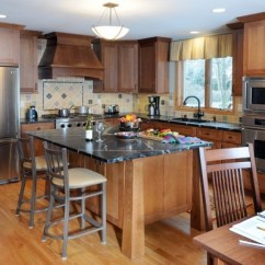 Craftsman Style Kitchen Cabinets Fridge Design What Is Typical For The