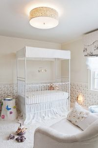 Modern baby nursery style in neutral colors  decor tips ...