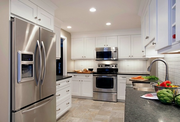 Modern Gray Granite Countertops