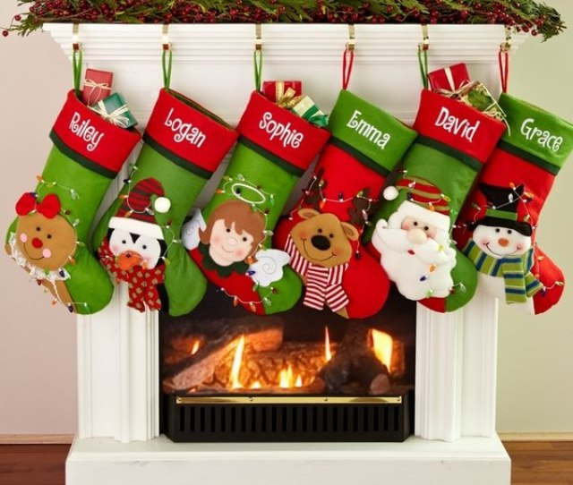 Personalized And Monogrammed Christmas Stockings For The Family