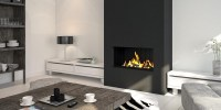 Outstanding ventless fireplace design ideas in modern ...