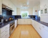 Fascinating blue granite countertops in modern and ...