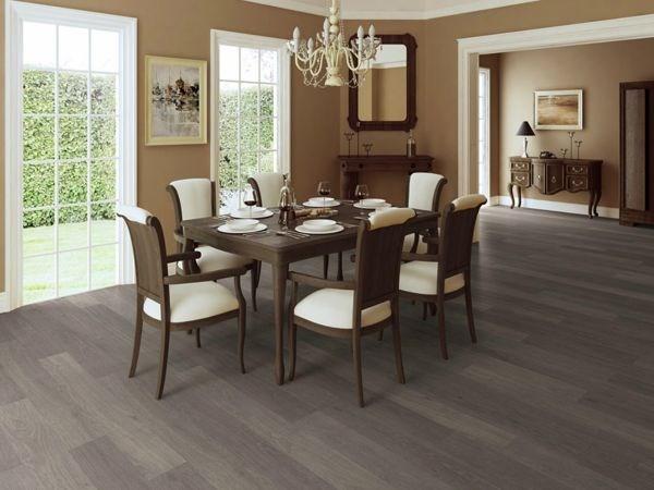Grey hardwood floors