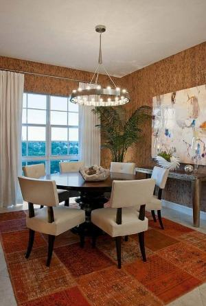 dining neutral patterns decoration round choose perfect romantic floral