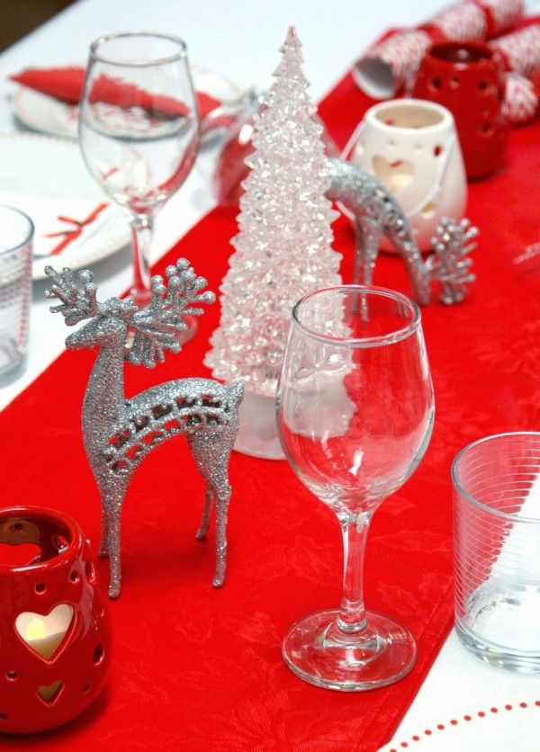 Table Decorations Ideas For Christmas