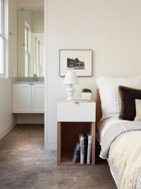 Small bedroom furniture ideas  narrow nightstand designs