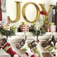 Christmas stocking holders  cool ideas for your Christmas ...