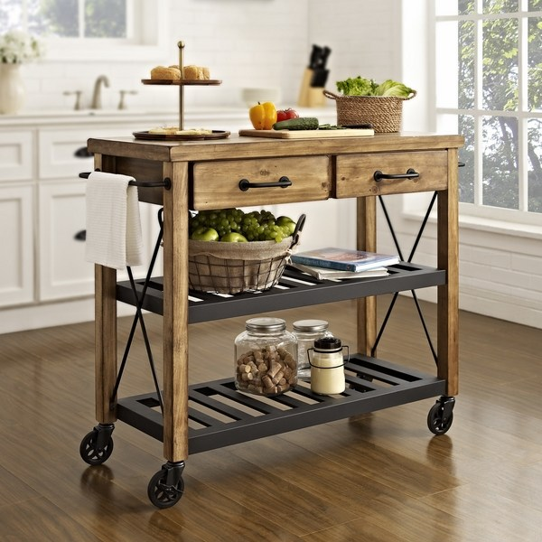 kitchen trolley cart farmhouse lighting fixtures the best carts and benefits of having one deavita