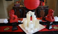 Chinese New Year decorations  a traditional home decor