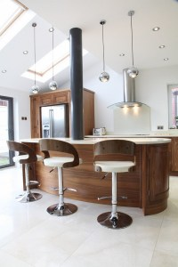Walnut kitchen cabinets  classic, traditional or modern