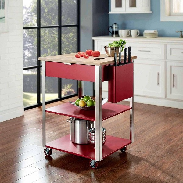 modern kitchen cart windsor chairs the best trolley carts and benefits of having one deavita design metal wood furniture ideas
