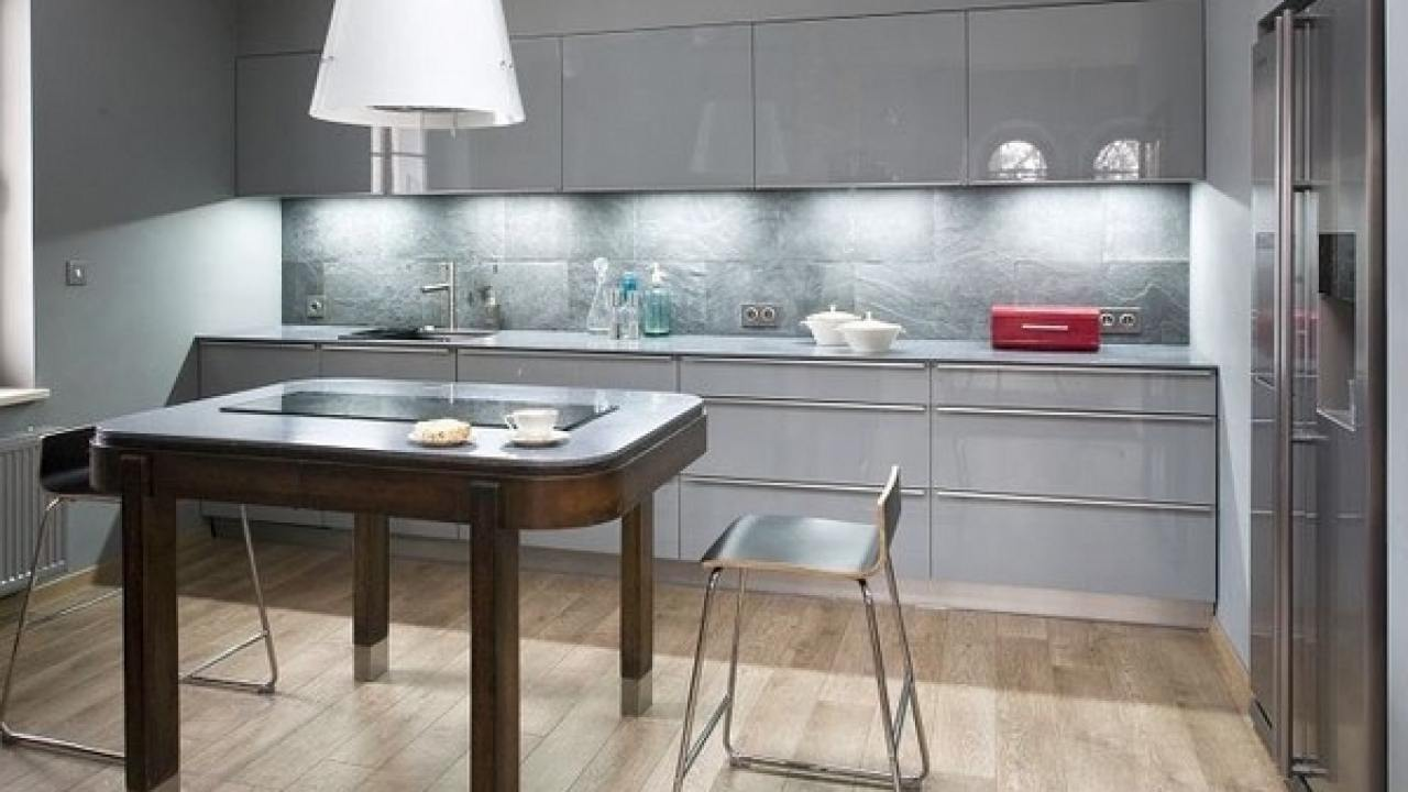 Trendy Grey Kitchens Charismatic Modern And Elegant Designs Deavita