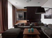 Black and grey living room ideas  modern home interiors ...