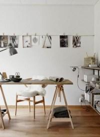 Sawhorse desk design ideas  a chic and simple desk solution