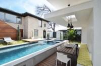 Above ground pool decks  40 modern garden swimming pool ...
