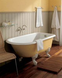How to choose a clawfoot tub faucet  bathroom design and ...