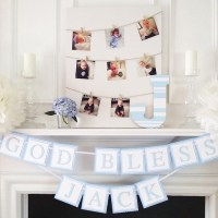 Christening decorations and party theme ideas for your big ...