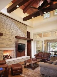 Craftsman style homes  exclusive interiors with a lot of ...