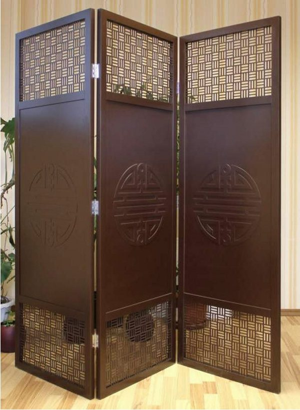 Stylish wood screens