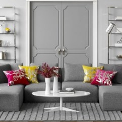 Gray Living Room Sets Wall Paint Color Schemes Ideas Combinations Furniture And Decoration