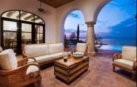 Beautiful Saltillo tile floor  Mediterranean patio decor ...