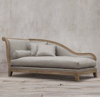 Fainting couch  a special piece of furniture with ...