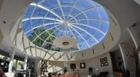 The splendor of dome skylights  spectacular ceiling ...