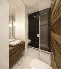 A hot trend in bathroom design  modern curbless shower ...