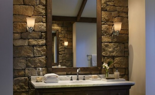Stone Bathroom Ideas Original Decorations With Great