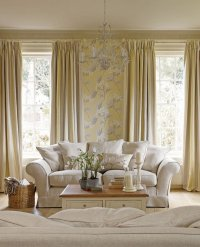 Laura Ashley wallpaper  a perfect choice for living room