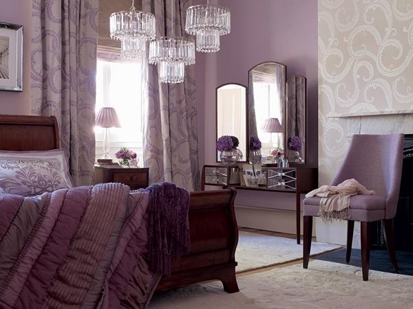 Bedroom Decorating Ideas Laura Ashley Bedding Set Plum Color