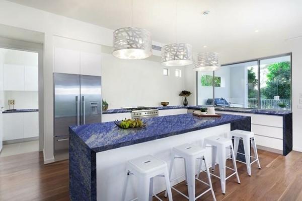Countertop Kitchen Modern Marble