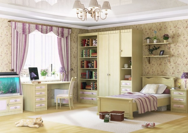 Modern teen desk ideas  teen bedroom furniture and room