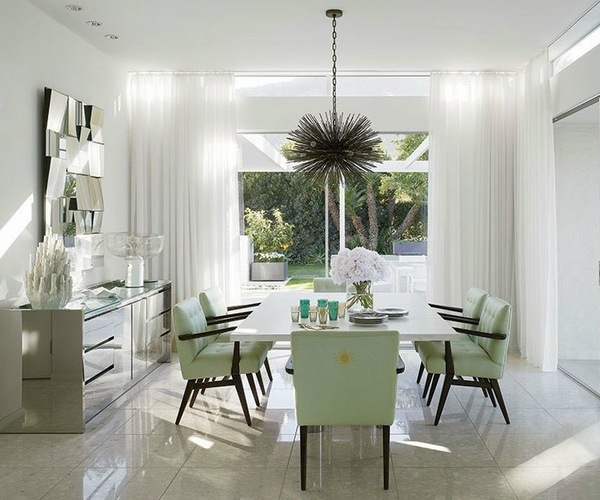 Mirrored sideboards  spectacular dining room furniture