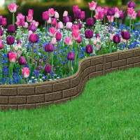 Gorgeous landscape designs and modern garden edging ideas