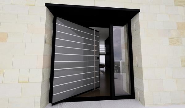 Steel doors  The advantages of modern front doors for
