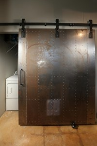 Industrial doors - an accent in modern home interior design