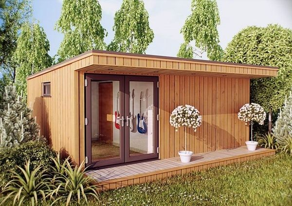 Soundproof Garden Studio Design Ideas – Useful Tips