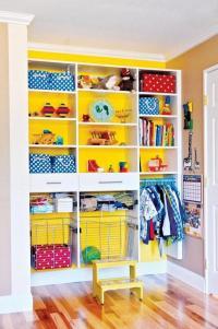 Kids closet design ideas  organizers and storage tips