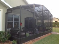 Screen enclosures  enjoy a comfortable outdoor environment