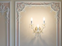 Picture frame moulding  exclusive wall decorating ideas