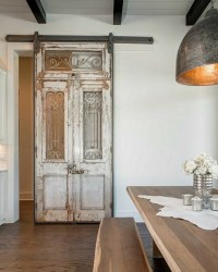 Antique doors in the interior - add unique accents to the ...