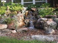 Pondless waterfall design ideas  unique garden water features